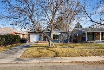 Denver Single Family Home Active: 1170 Ivy Street