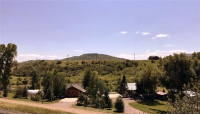 Routt County Single Family Home Under Contract: 422 & 426 East Willow Bend