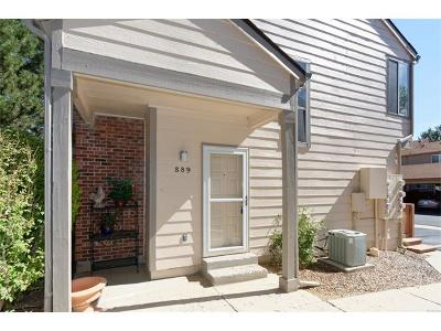 Highlands Ranch Condo/Townhouse Sold: 889 Summer Drive #14E