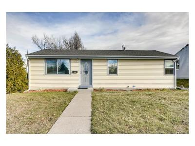 Denver Single Family Home Active: 122 South Stuart Street