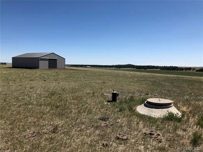 Elbert County Residential Lots & Land Active: 21500 County Road 37