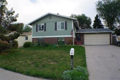 Centennial Single Family Home Active: 4242 East Peakview Circle