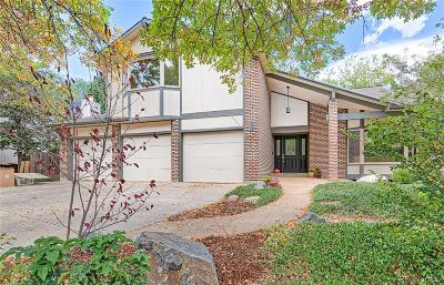 Boulder Single Family Home Under Contract: 5531 La Plata Circle