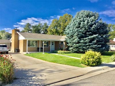 Wheat Ridge Single Family Home Under Contract: 7470 West 35th Avenue