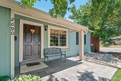 Denver Single Family Home Active: 2690 South Vine Street