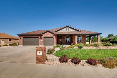 Fort Lupton Single Family Home Under Contract: 294 Corvette Circle