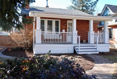 Denver CO Single Family Home Sold: $485,000