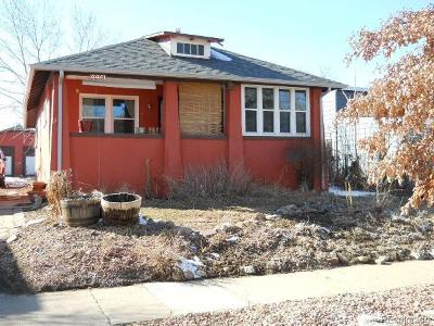 Denver CO Single Family Home Active: $425,000