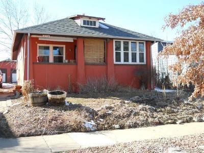 Denver Single Family Home Active: 4441 Quitman Street