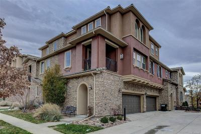 Highlands Ranch Condo/Townhouse Active: 3375 Cascina Circle #D