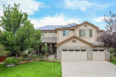 Littleton Single Family Home Active: 9590 South Flower Way