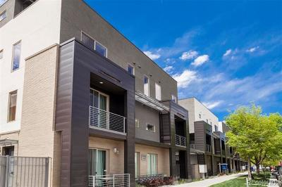 Denver Condo/Townhouse Active: 1333 Elati Street #2