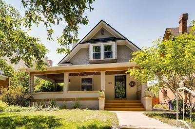 Denver Single Family Home Under Contract: 1047 Cook Street