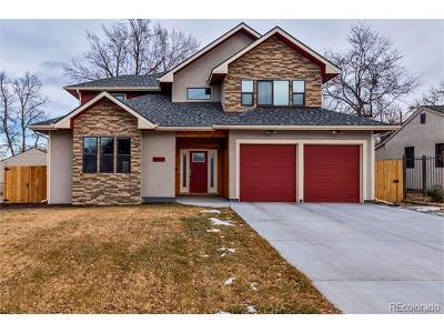 Denver Single Family Home Active: 3350 South Eudora Street