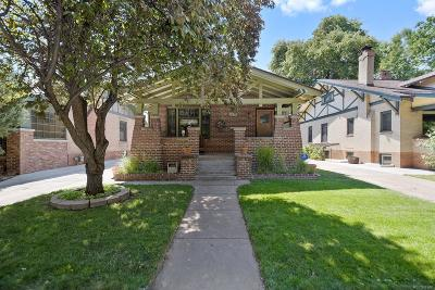 Denver Single Family Home Active: 1621 Jackson Street