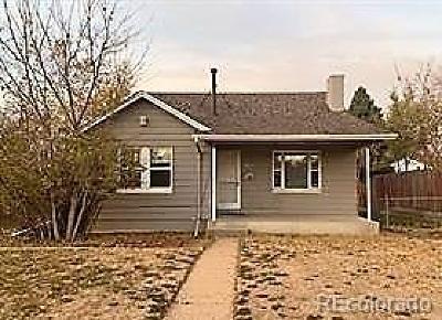 Aurora, Denver Single Family Home Active: 9941 East 23rd Avenue