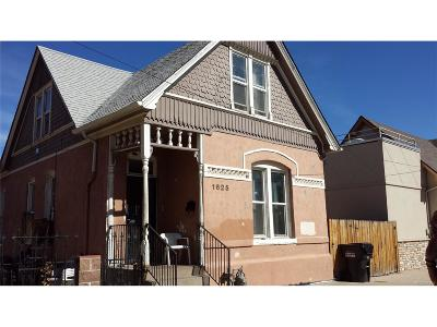 Denver Single Family Home Under Contract: 1625 Bruce Randolph Avenue