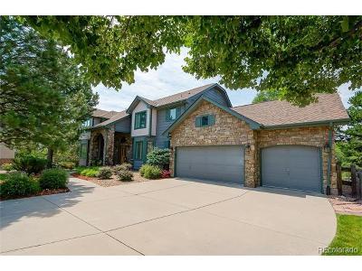 Castle Pines Single Family Home Active: 920 Shady Oak Lane