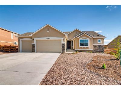 Peyton Single Family Home Under Contract: 12451 Wetterhorn Peak Drive