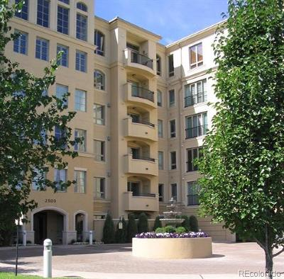 Cherry Creek Condo/Townhouse Active: 2500 East Cherry Creek South Drive #214