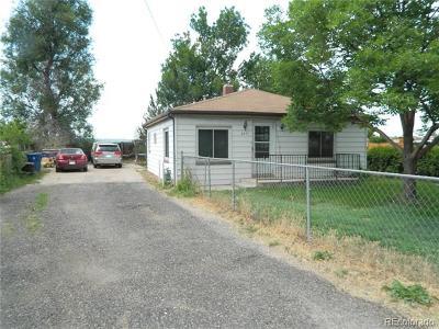 Commerce City Single Family Home Active: 8271 Brighton Road