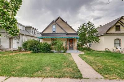 Denver Single Family Home Active: 3338 Meade Street