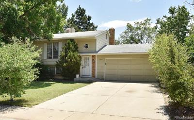Federal Heights Single Family Home Under Contract: 2806 West 98th Circle