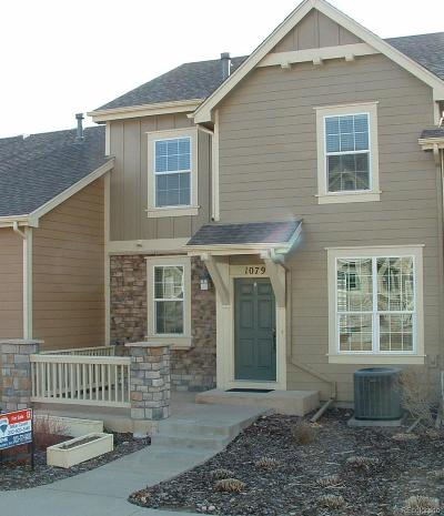 Castle Rock Condo/Townhouse Active: 1079 Purple Sky Way