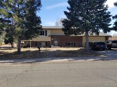 Colorado Springs Single Family Home Active: 1802 Olympic Drive