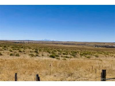 Kiowa CO Residential Lots & Land Active: $199,000