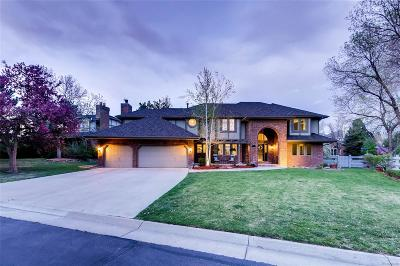 Highlands Ranch Single Family Home Under Contract: 16 Falcon Hills Drive