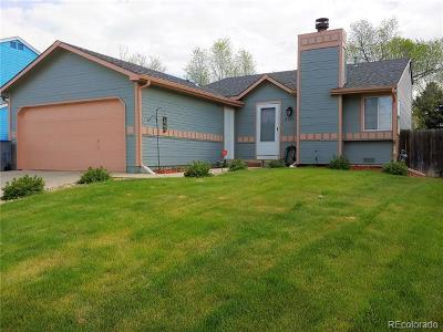 Longmont Single Family Home Active: 2166 Hackberry Circle