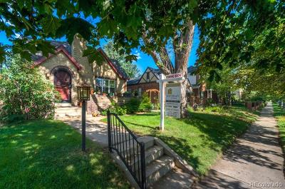 Denver Single Family Home Active: 542 South Vine Street