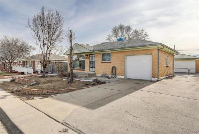 Northglenn Single Family Home Under Contract: 10864 Mildred Drive