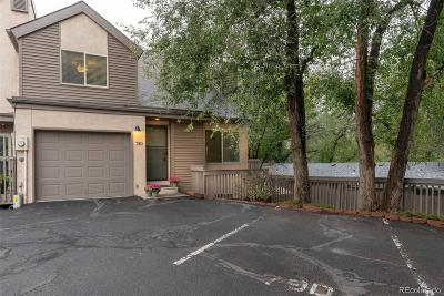 Manitou Springs Condo/Townhouse Under Contract: 79 Crystal Park Road #D