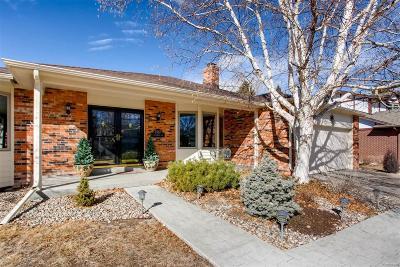 Centennial Single Family Home Under Contract: 7567 South Fillmore Way