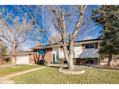 Littleton Single Family Home Active: 7416 South Elati Street