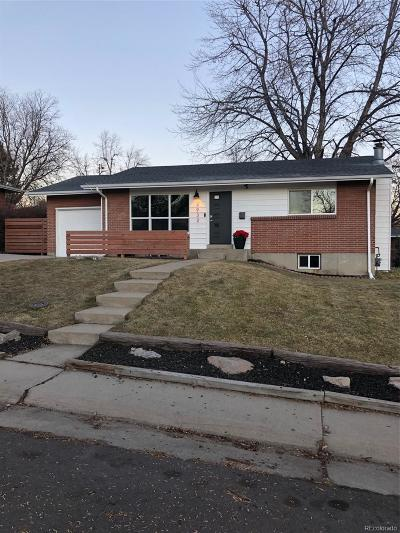 Denver Single Family Home Active: 2932 South Vrain Street