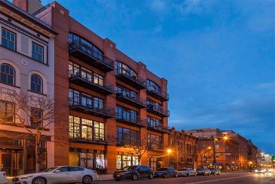 Condo/Townhouse Under Contract: 1441 Wazee Street #202