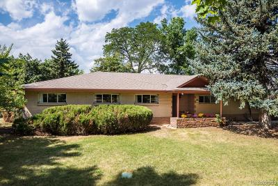 Boulder Single Family Home Active: 821 Spring Drive