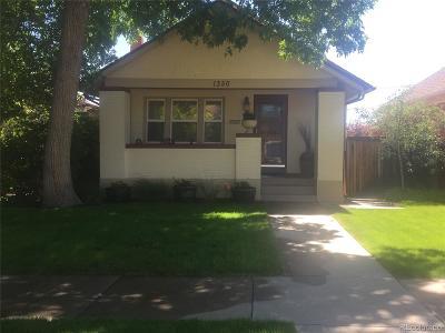 Denver Single Family Home Active: 1350 Stuart Street