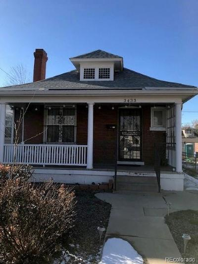 Denver Single Family Home Active: 3433 North High Street