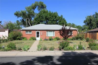 Thornton Single Family Home Under Contract: 9311 Lillian Lane