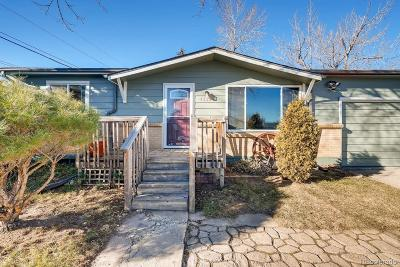 Wheat Ridge Single Family Home Under Contract: 4321 Hoyt Court