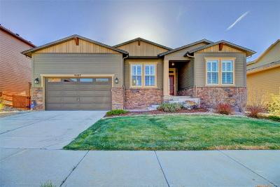 Arvada Single Family Home Active: 9547 Nile Way