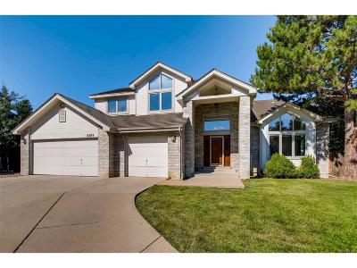 Centennial Single Family Home Under Contract: 8289 South Franklin Court