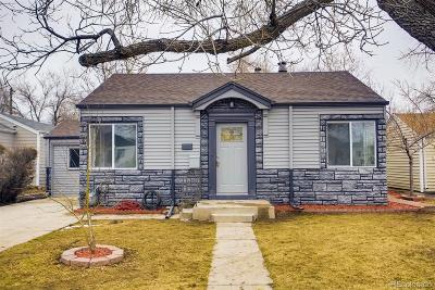 Denver Single Family Home Under Contract: 430 Newton Street