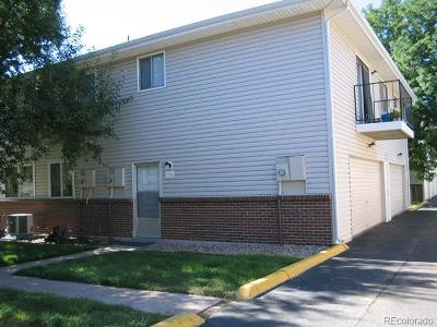 Denver Condo/Townhouse Active: 9105 East Lehigh Avenue #116