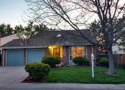 Littleton Single Family Home Under Contract: 7915 South Bemis Street