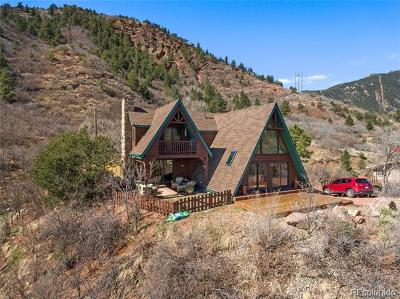 Manitou Springs Single Family Home Active: 913 Chipeta Road